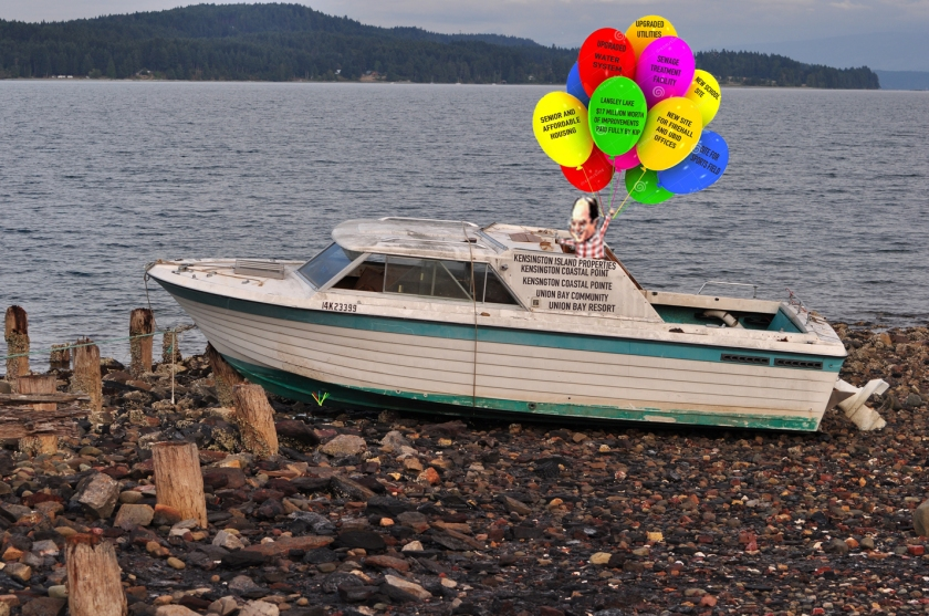 reduced KIP COSTANZA ON BOAT WITH BALLOONS