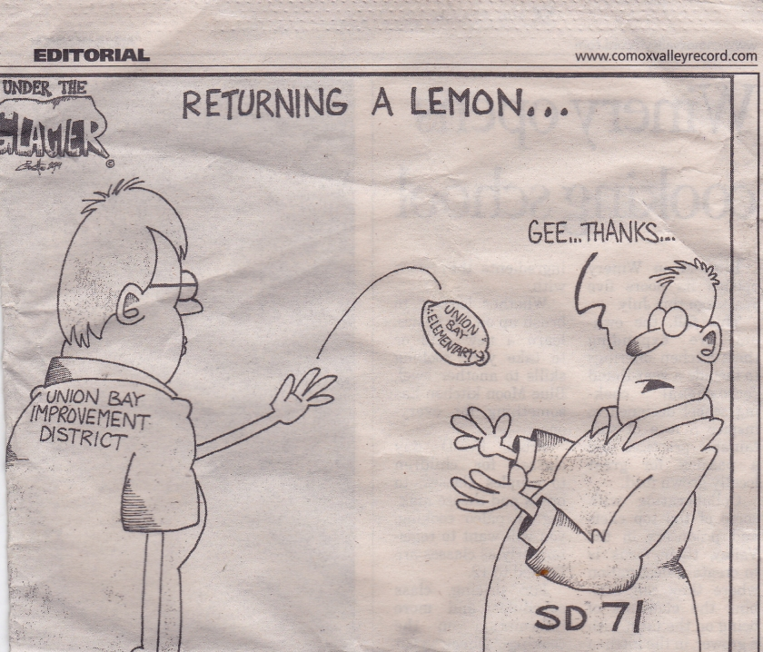 returning a lemon Oct 21, '14