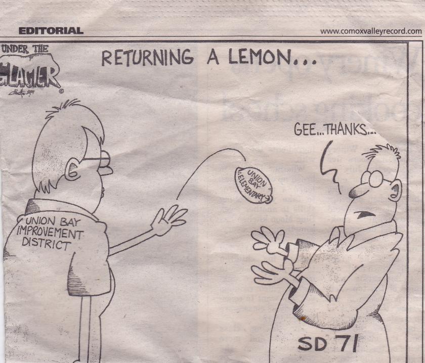 returning a lemon Oct 21, '14