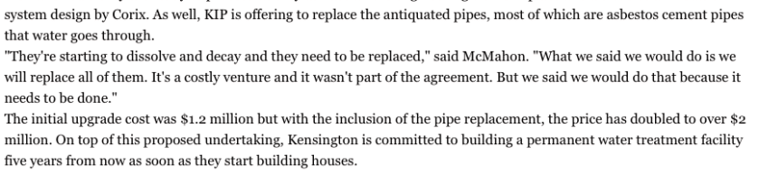 mcmahon government timelines kip will replace aging pipes june-2015 copy