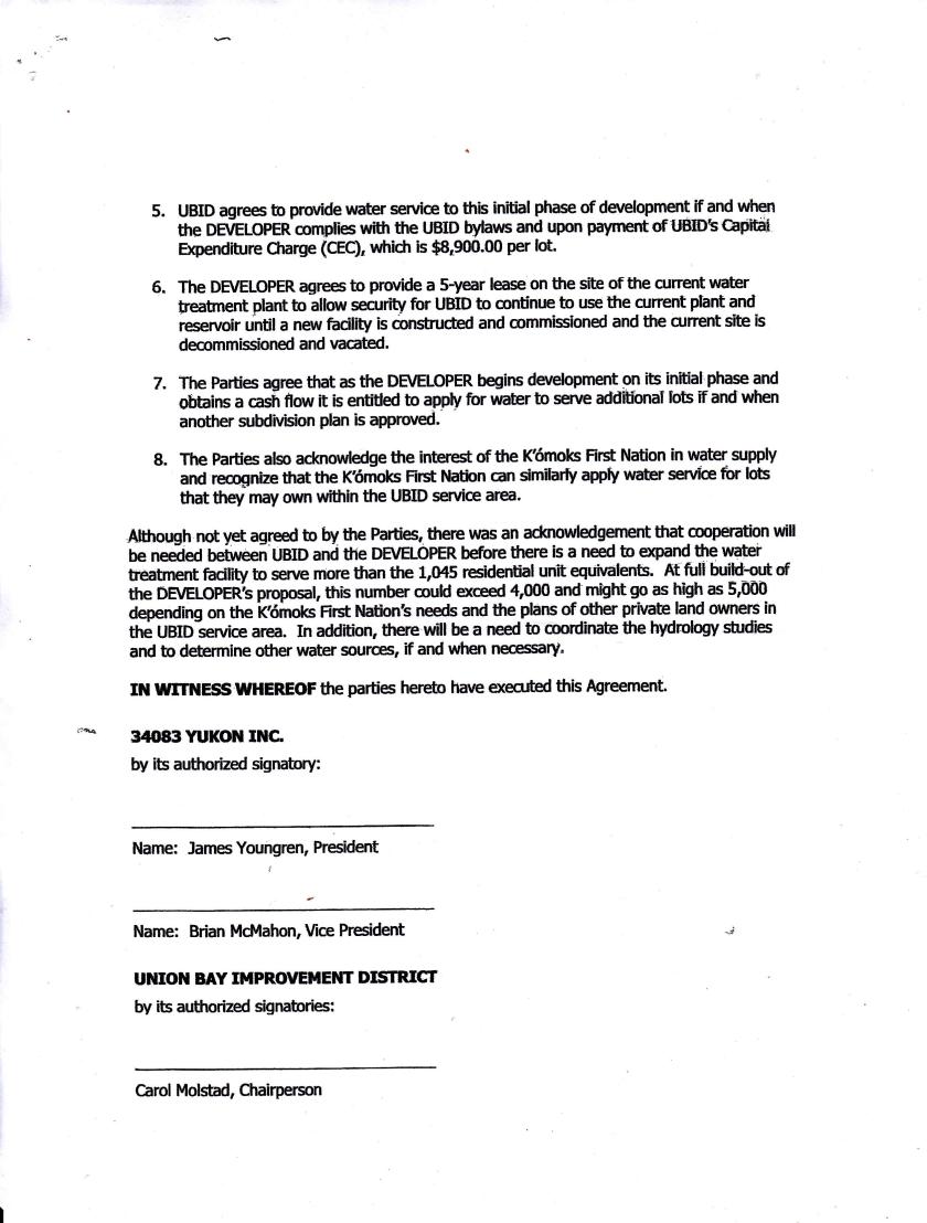 Memorandum of Understanding page 2