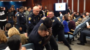 fl-lauderdale-protesters-disrupt-meeting-video